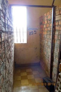 Prison cell #22. Chum Mey's cell.